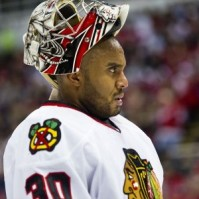 The Chicago Blackhawks avoided a goalie controversy last season, despite Ray Emery's 17-1-0 record.