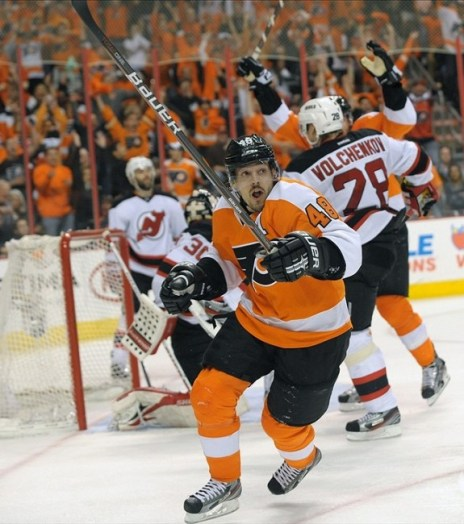 Danny Briere signed with the Canadiens after being a Flyers buy-out (Eric Hartline-US PRESSWIRE)