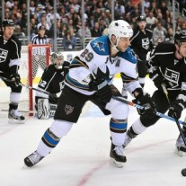 Ryane Clowe versus the Kings