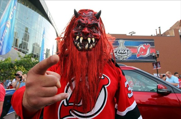 The Devils defense has been scary bad, not scary good lately. (Ed Mulholland-US PRESSWIRE)