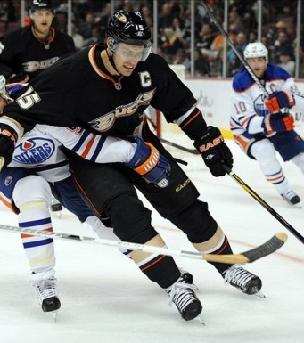 Ryan Getzlaf, who sits second in the league in scoring, will attempt to lead his team to top position in the West.