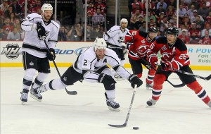 The Kings will be without Matt Greene for most of the season. (Ed Mulholland-US PRESSWIRE)