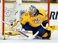 An eighth-round pick, Pekka Rinne has developed into one of the best goalies in the game. (Don McPeak-US PRESSWIRE)