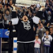 Dustin Brown and the Kings went on a remarkable run in the 2012 playoffs to hoist the Cup (Jayne Kamin-Oncea-US PRESSWIRE)