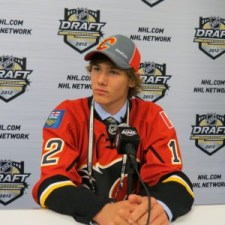 Flames 2011 first round pick Mark Jankowski (Lisa McRitchie/Kukla's Korner)