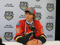 "Is Warren Foegele this year's ""Big Jankowski""? - Calgary Flames 2011 first round pick Mark Jankowski (Lisa McRitchie/Kukla's Korner)"