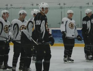 Cody Payne (67) attending the Boston Bruins 2012 Development Camp