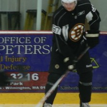 Jared Knight at the Boston Bruins 2012 Development Camp. (Photo: Amanda Mand)
