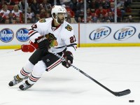 Wilhelm Westlund plays a simple all-around game like Johnny Oduya. (Rick Osentoski-US PRESSWIRE)