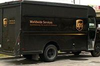 UPS delivery. Image from Wikipedia.