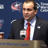 Columbus Head Coach Todd Richards (Columbus Blue Jackets)