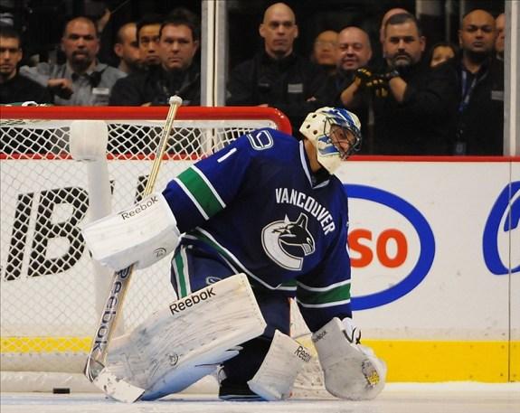 Maple Leafs Roberto Luongo