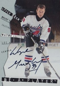 1994-95 Be a Player Autograph #108 Wayne Gretzky