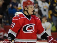 Hurricanes' Peters to Alexander Semin: Have a Seat