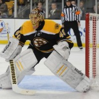 The 'Canes will have to figure out Tuukka Rask on Saturday (Bob DeChiara-USA TODAY Sports)