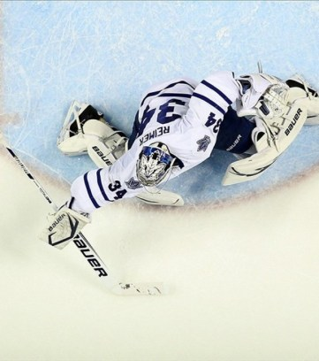 Would James Reimer be able to hold his ground in the intensity of a Montreal/Toronto playoff matchup?