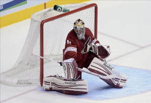 Goaltender Mike Smith Looks to Bring Up His Play to the Next Level (Jennifer Stewart-USA TODAY Sports)