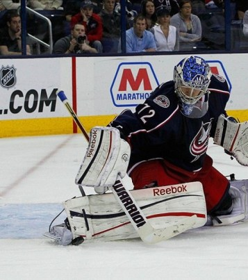 Bobrovsky Blue Jackets