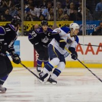 Alex Steen scored both Blues goals Tuesday night (Bridgetds@Flickr)