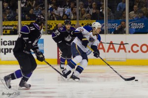 Alex Steen scored both Blues goals Tuesday night (Bridgetds@Flickr)