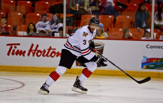 Seth Jones of the Portland Winterhawks [photo: David Chan]