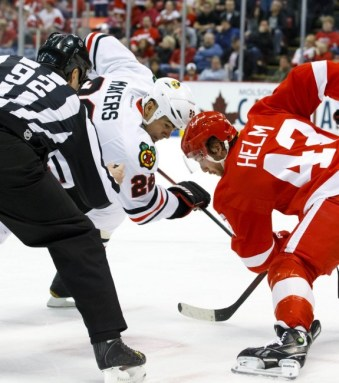 Jamal Mayers hopes to see his name on the Stanley Cup