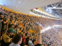 Bruins Crowd during the 2011 Stanley Cup FInal