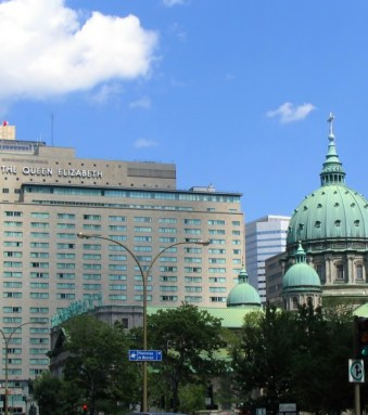 The Queen Elizabeth Hotel Was the Site of Many NHL Drafts
