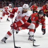 Lindholm's two-way game has drawn comparisons to a young Henrik Zetterberg (Rob Grabowski-USA TODAY Sports)