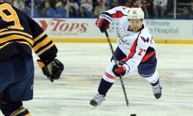 Always Steady Alzner Makes Big Strides for Capitals