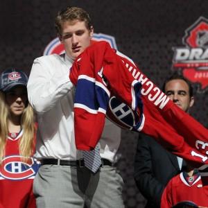 Montreal Canadiens forward Michael McCarron