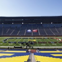 The Big House will host the 2014 Winter Classic (Rick Osentoski-USA TODAY Sports)