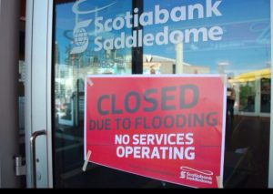 Calgary flooding Summer of 2013 heavily damages Calgary Flames Saddledome (Jackie Soo)