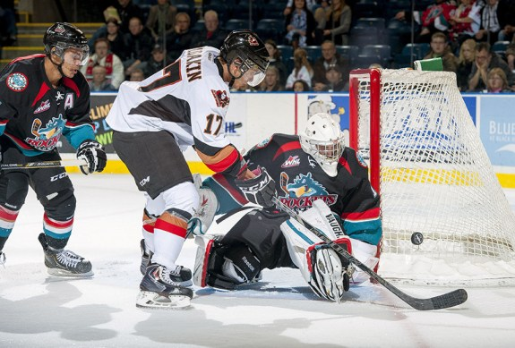 Kelowna stays on top of WHL rankings but Calgary is coming (photo whl.ca)