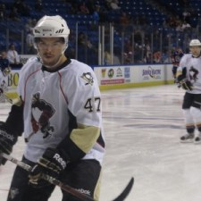 Despres has bounced between WBS and Pittsburgh, but appears to be on the right path now.. (Alison Myers/THW)