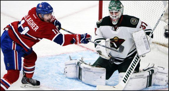 Canadiens' Brendan Gallagher