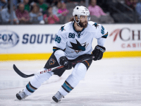 The San Jose Sharks were undoubtedly happy to see Brent Burns back in the lineup, and so should fantasy managers. Mandatory Credit: Jerome Miron-USA TODAY Sports