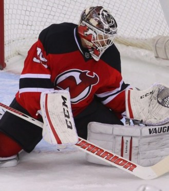 Cory Schneider has been a hard-luck loser with the Devils so far this season with only 5 wins in 19 starts. (Ed Mulholland-USA TODAY Sports)