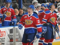 Don't look now but Curtis Lazar could trade his Oil Kings jersey for a Sens jersey this year. (photo whl.ca)