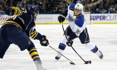 Alexander Steen Signs Four-Year Extension With St. Louis Blues