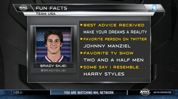 Brady Skjei Fun Facts