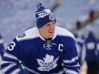 Did Dion Phaneuf play his last game in a Maple Leafs uniform? (Rick Osentoski-USA TODAY Sports)