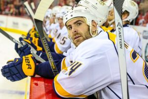 Eric Nystrom's $10 million contract has hardly helped Shea Weber forget about the insanity in Nashville.