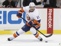 Lubomir Visnovsky will be a vital part of the Isles' defense this year. (Charles LeClaire-USA TODAY Sports)