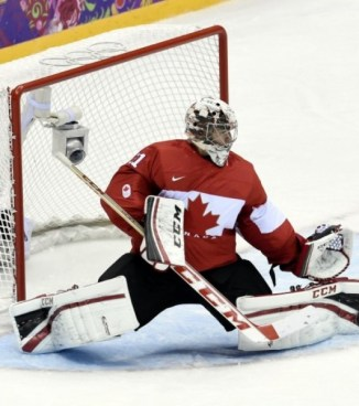 Canadian Olympic Goaltender Carey Price