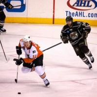 Matt Watkins of the Hershey Bears (Annie Erling Gofus/The Hockey Writers)
