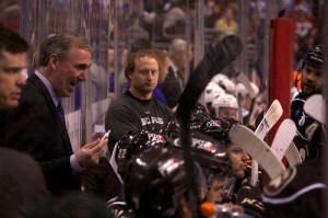 Hershey Bears coach Mike Haviland (Annie Erling Gofus/The Hockey Writers)