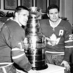 Tim Horton, Tim Hortons, NHL, Toronto Maple Leafs, Allan Stanley, Stanley Cup, Hockey, Coffee