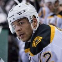 Former Boston Bruins forward Jarome Iginla