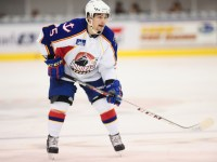 Kevin Gagne with the Norfolk Admirals Photo Credit: (John Wright/Norfolk Admirals)